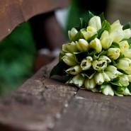 tulipán csokor