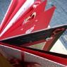 Piros-fehér vendégkönyv 2